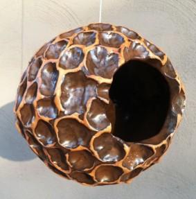 Bronze Wave Orb