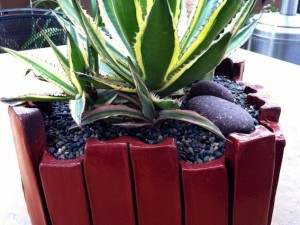 Extruded Planters