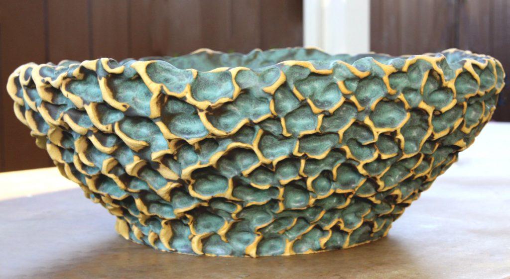 Original Susan Aach Wave planter